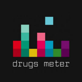 Drugs_meter_logo_on_black_400x400